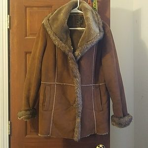 Jackets & Blazers - Awesome Faux Fur/ Sherling Coat